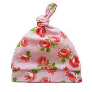 Organic Baby Hat {Pink Rose} NWT